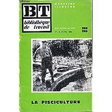 Bibliothèque de travail n°268-269 la pisciculture