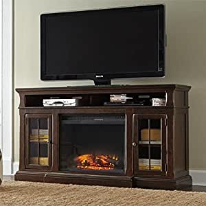 Amazon Com Ashley Roddinton 74 Quot Tv Stand With Wide Led
