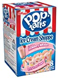 Pop-Tarts, Frosted Strawberry Milkshake, 8-Count Tarts (Pack of 12)