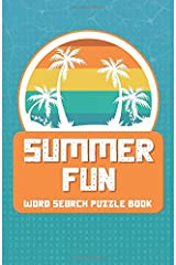 Summer Fun | Word Search Puzzle Book: Challenging Word Finder Puzzle Book for Adults and Kids ages 9-12 (Word Search Books) Paperback