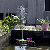 Coerni Eco-friendly Solar Powered Submersible Fountain Water Pump For Pond,Garden,Aquarium, Fish Tank Water Pump