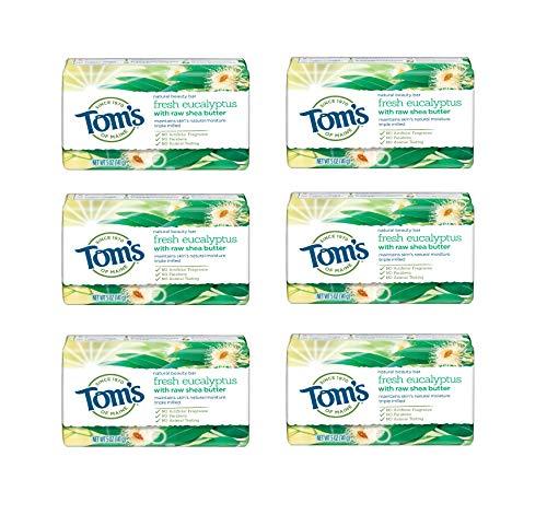 Tom's of Maine Fresh eucalyptus beauty bar, 5 Ounce, 6 - Ounce 5 Bar