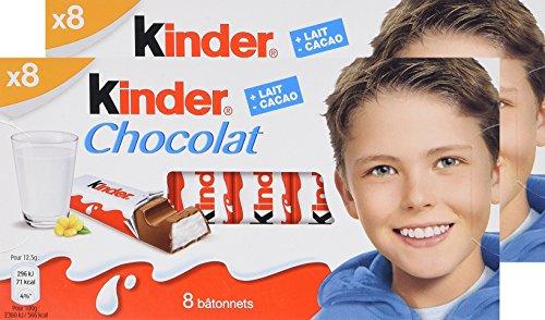 Kinder Chocolate 100g | 3.52oz (PACK OF 02)