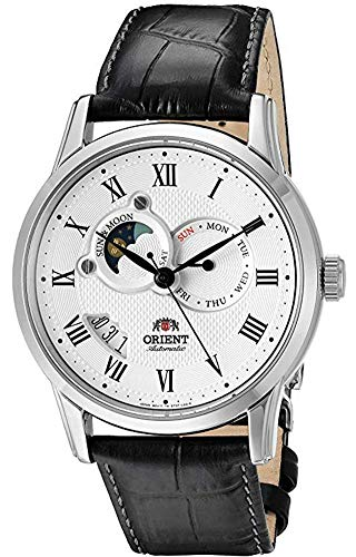 """Orient Classic""""Sun and Moon"""" Automatic White Dial Men"""