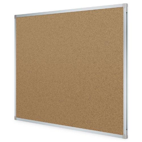 mead classic cork bulletin board cork board 4 39 x 3 39 aluminum frame 85362 buy online in. Black Bedroom Furniture Sets. Home Design Ideas