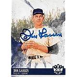 Don Larsen autographed Baseball Card (New York Yankees) 2018 Panini Diamond Kings #24 - MLB Autographed Baseball Cards