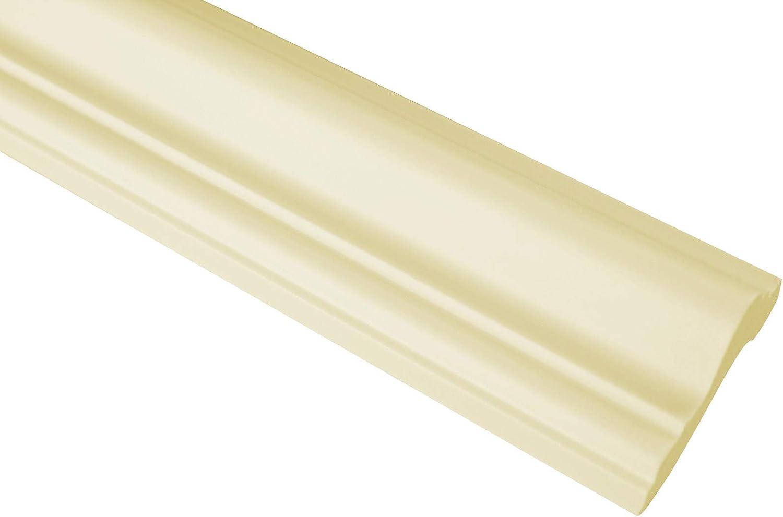 CR700.FLEXI riesige Auswahl an 2 Meter Leisten 17x8mm elastischer Stuck f/ür Wand und Decke Flachprofile aus flexiblem PU Zierleiste