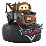 CARS Mater Alarm Clock Radio