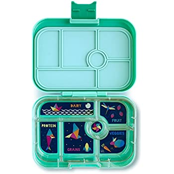 YUMBOX (Tahiti Green) Leakproof Bento Lunch Box Container for Kids