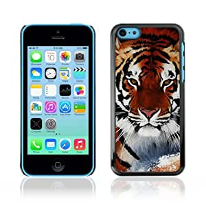 Designer Depo Hard Protection Case for Apple iPhone 5C / Cool Snow Tiger