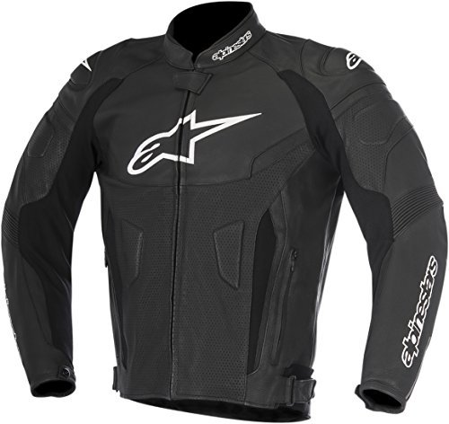 Alpinestars GP Plus R v2 Mens Airflow Leather Jacket Black 56 EUR ()