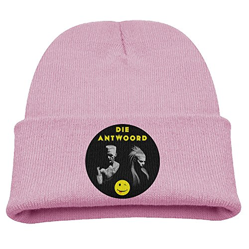 SHEAKA-DIE-ANTWOORD-Babys-Knitted-B-boyCap-Pink-For-Autumn-And-Winter