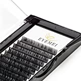 d curl lashes - Eyelash Extensions 0.20 D Curl Natural Thick Individual Lashes Faux Mink Eyelash Extensions 8-14mm 8 Sizes in One Mixed Tray by EYEMEI