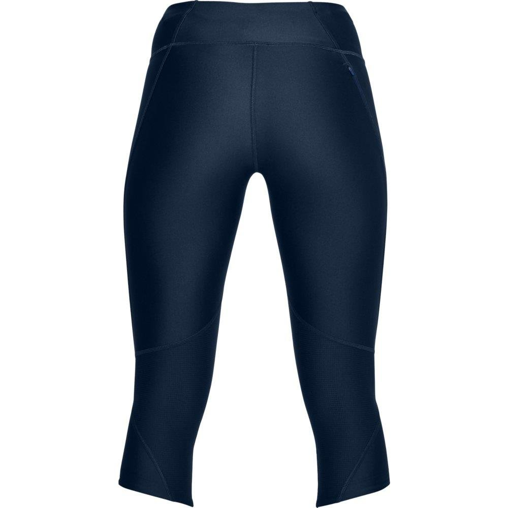 Under Armour Women's Armour Fly Fast Capris, Academy /Reflective, X-Small by Under Armour (Image #4)