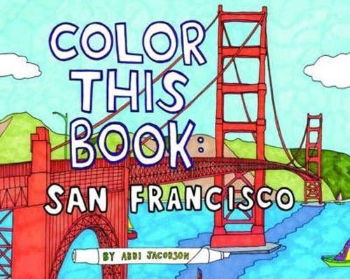 Color this Book: San Francisco