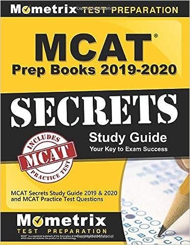 Best Mcat Prep Books 2020 Amazon.com: MCAT Prep Books 2019 2020: MCAT Secrets Study Guide