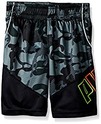 Puma Little Boys' Active Short, Green, 4