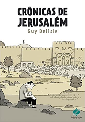 Resultado de imagem para jerusalem Guy Delisle capa