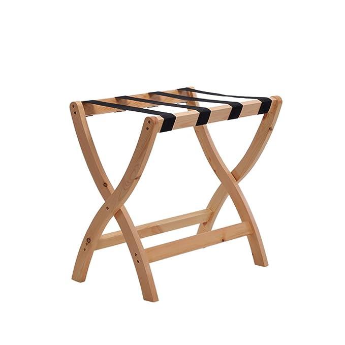 Amazon.com: XIA - Perchero de madera maciza, color rojo ...