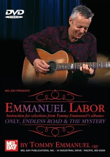 Emmanuel labor: tommy emmanuel, peter berkow: amazon. Com. Br: dvd e.