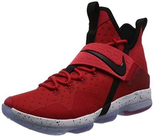 Nike Hommes Lebron Xiv Ep, Université Rouge / Noir-blanc, 11 M Us