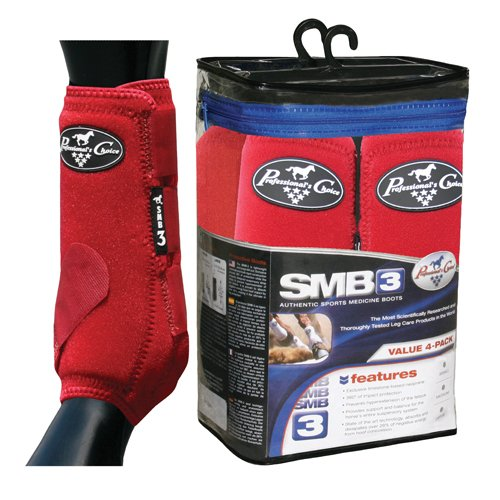 Professionals Choice Equine Sports Medicine Boot Value Pack, Set of 4