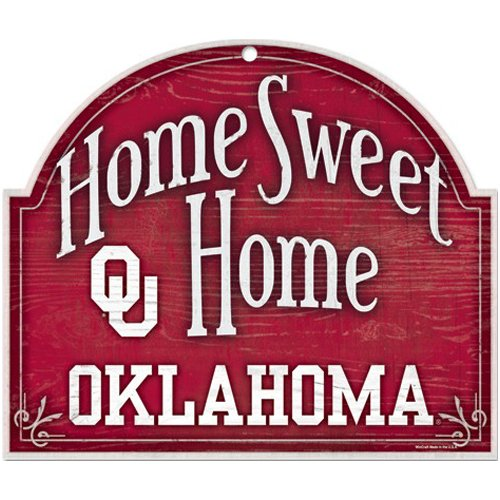 Wincraft NCAA University of Oklahoma Wood Arched Sign, 10 x 11, ()