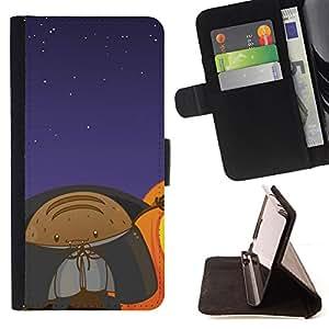 BullDog Case - FOR/LG G3 / - / Lol Funny Space Monster /- Monedero de cuero de la PU Llevar cubierta de la caja con el ID Credit Card Slots Flip funda de cuer