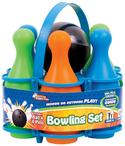Brer Rabbit Toys Carry All Bowling Set