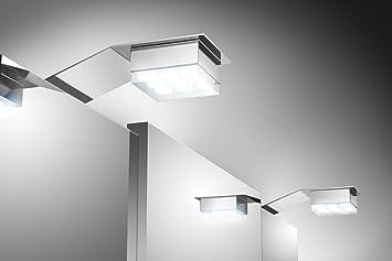 SAM® Badezimmer Spiegelschrank Beleuchtung LED - 2er Set und ...