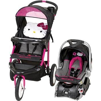 Amazon.com : Baby Trend Hello Kitty Jogger Travel System - Baby ...