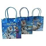 (12ct) Disney Nickelodeon Marvel Birthday Goody Gift Loot Favor Bags Party Supplies (Olaf II)