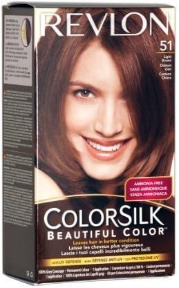 Revlon Colorsilk Beautiful 51 color de pelo, color marrón claro