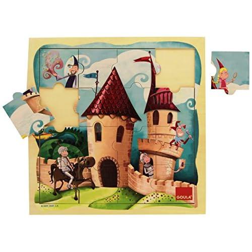 Goula 53098 - Puzzle - Château - 16 Pièces