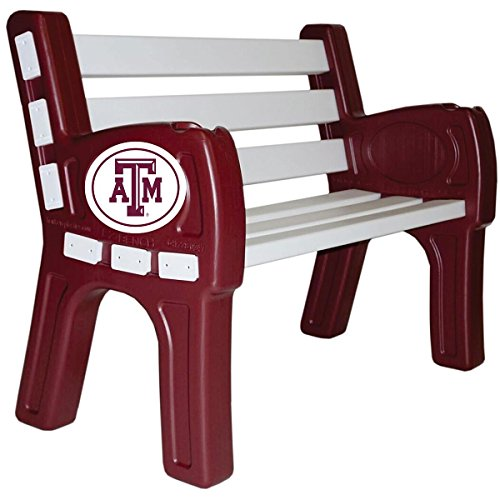 IMPERIAL INTERNATIONAL TEXAS A&M AGGIES PARK BENCH by Imperial