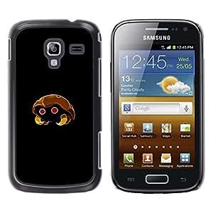 LECELL--Funda protectora / Cubierta / Piel For Samsung Galaxy Ace 2 -- Meter Monstruo de oro de insectos --
