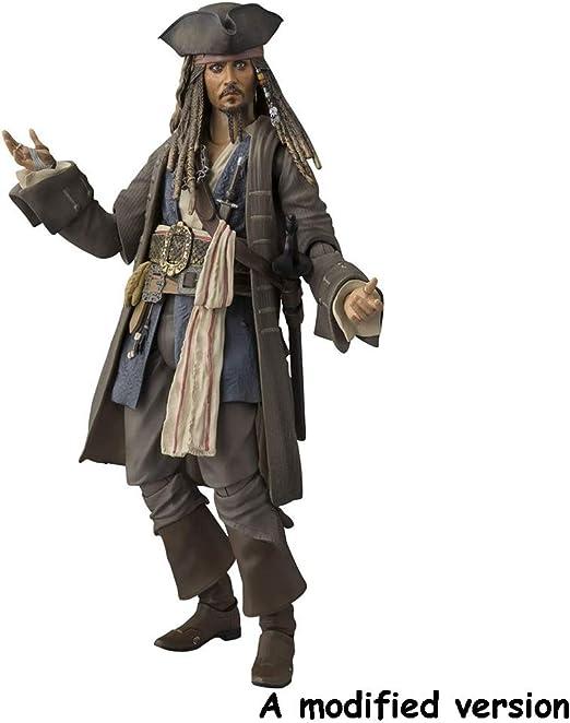 Xiaoping Piratas del Caribe Figura capitán Jack Sparrow móvil de ...