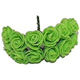 1.5-2Cm Single Head Multicolor Pe Rose Foam Flower Bouquet Pe Flower/Scrapbooking Artificial Rose Diy Flower (144Pcs/Lot)^NO 10.