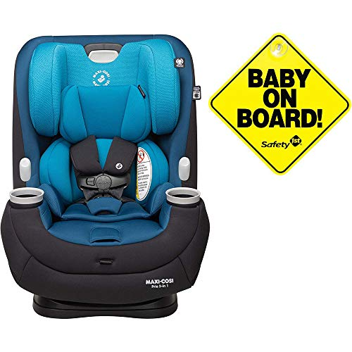 Maxi-Cosi Pria 3-in-1 Convertible Car Seat – Harbor Side with Baby on Board Sign