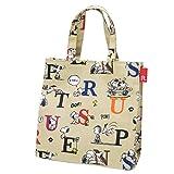 Snoopy lunch bag Square laminate PEANUTS-3H alphabet peanuts