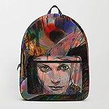 Society6 Backpack, The Firestarter by Hubert_fine_Art, Standard Size