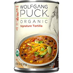 Wolfgang Puck Organic Signature Tortilla Soup, 14.5 Ounce (Pack of 12)