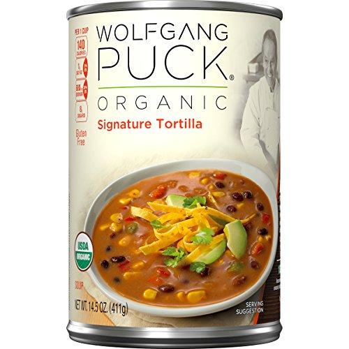 Organic Tortillas (Wolfgang Puck Organic Signature Tortilla Soup, 14.5 Ounce (Pack of 12) (Packaging May Vary))