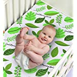 Hi-Bunny-Fitted-Crib-Sheet-100-Cotton-Jersey-Soft-Breathable-Standard-Crib-and-Toddlers-Mattresses-for-Boys-and-Girls-Good-Morning-World
