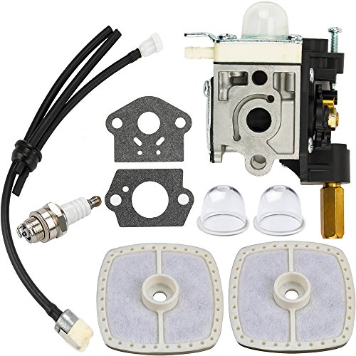 - Dalom SRM 210 Carburetor w Fuel Line Primer Bulb for Echo Weedeater SRM210 SRM211 GT200 GT201 PE200 PE201 SRM210U SRM210SB SRM211U SRM211SB HC150 HC151 SHC210 SHC211 Trimmer Parts