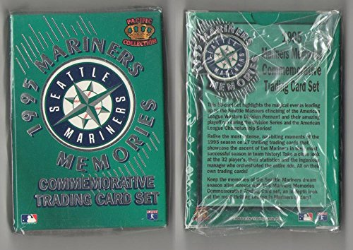(1995 Pacific Memories SEATTLE MARINERS Team Set Factory set)