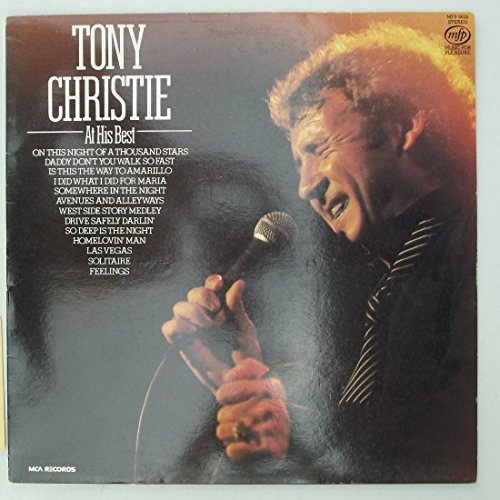 At His Best - Tony Christie LP (Tony Christie Best Of Tony Christie)