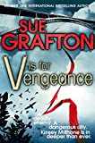 V is for Vengeance by Sue Grafton front cover