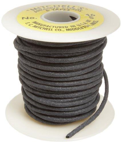 Mitchell Abrasives 46-S Round Abrasive Cord, Silicon Carbide 120 Grit .15