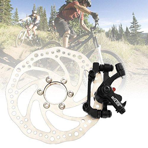 Mountain Bike Brake+160MM Brake Disc Universal Brake For Cycling Bicycle by CLKJYF